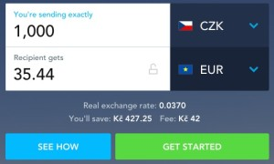 transferwise převod peněz do zahraničí