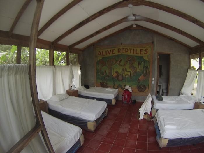 La Tortuga hostel postele