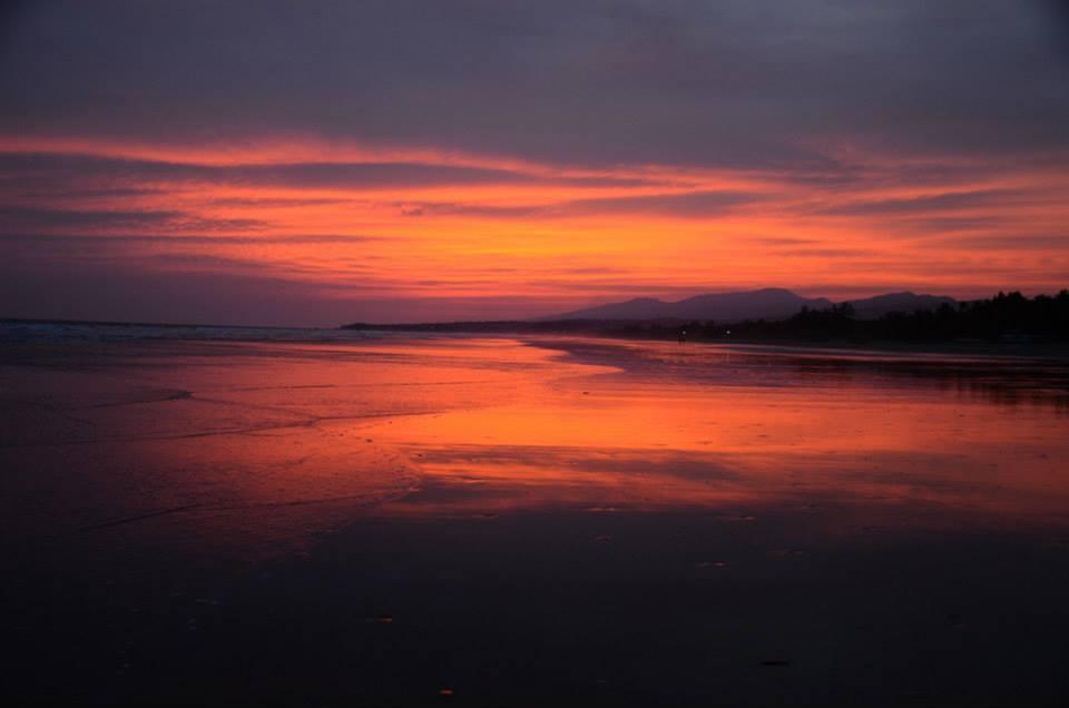 Salvádor západ slunce
