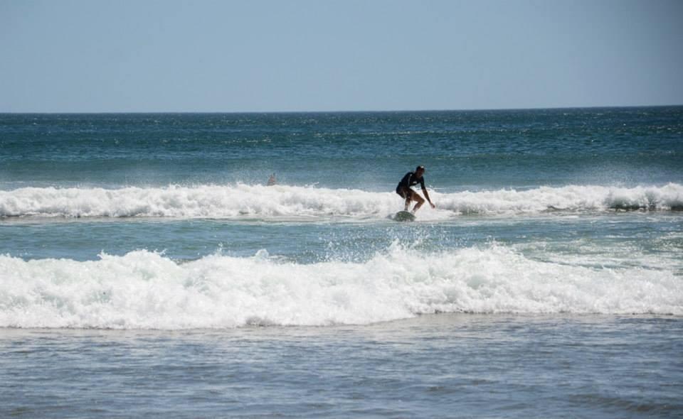 Surfing Maderas, Nicaragua