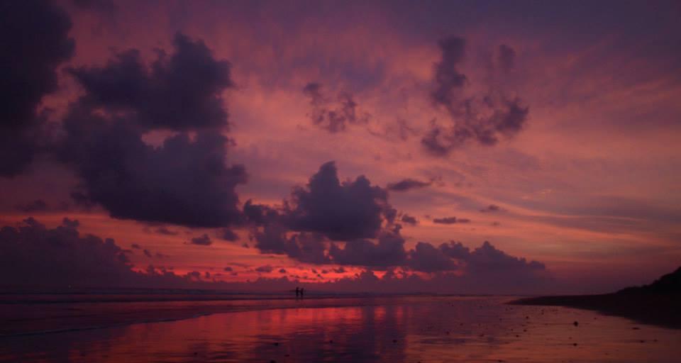 Pláž Dominiqal Kostarika