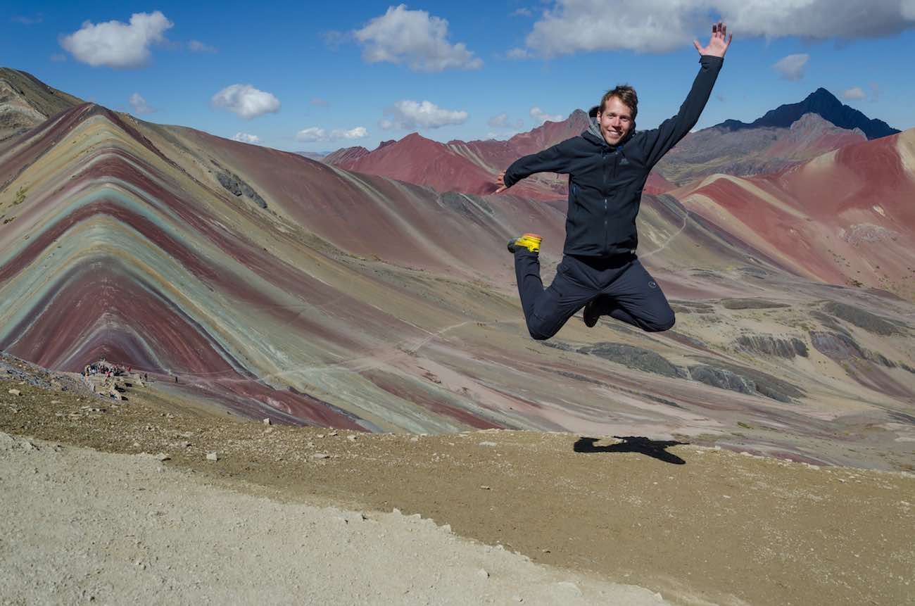 duhové hory rainbow mountain peru