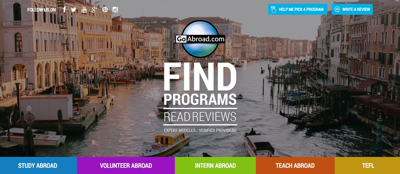 GoAbroad volunteering