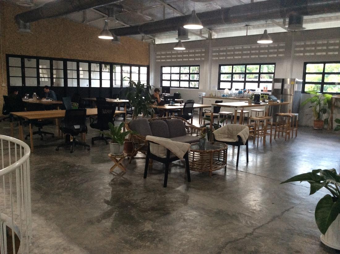 Coworking Punspace Thajsko