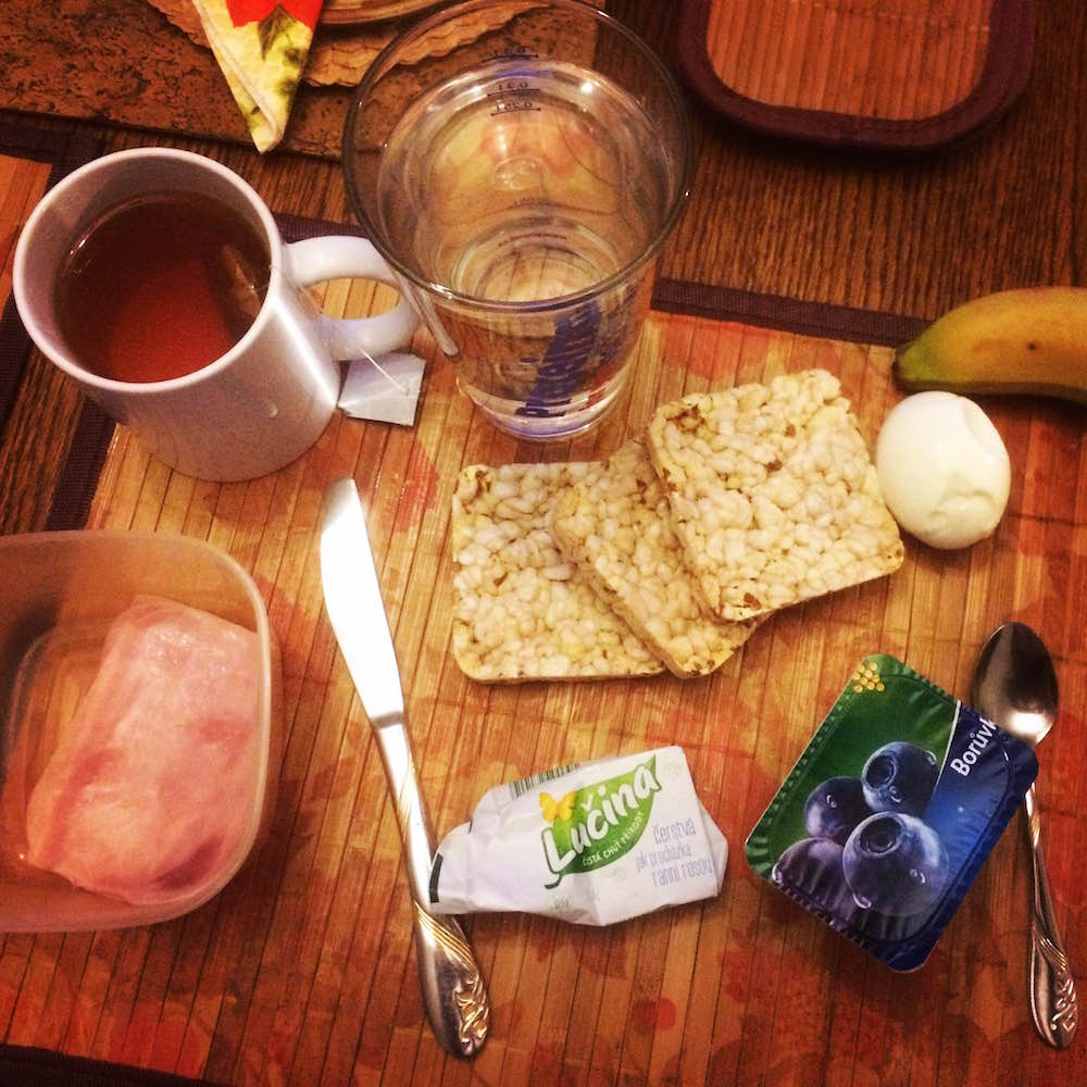 Ranní rutiny a snídaně