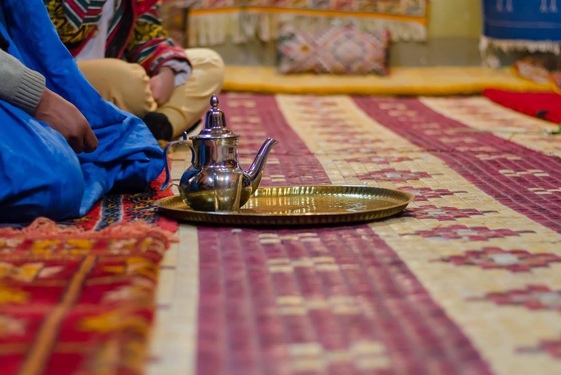 Čaj v Maroku