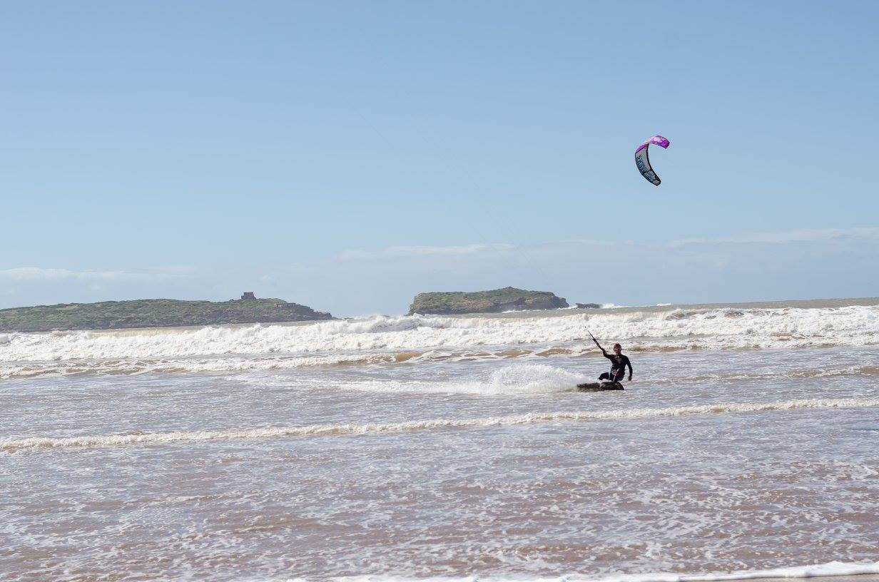 Essaouira kitesurfing Maroko