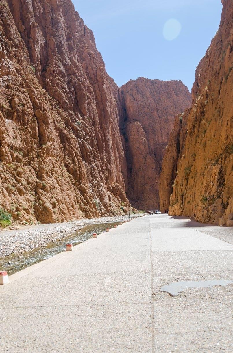 Kaňon Gorges Maroko