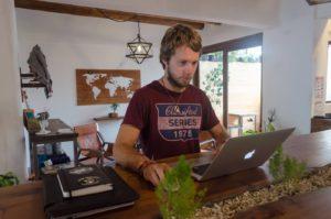 martin rosulek digitální nomád ekvádor