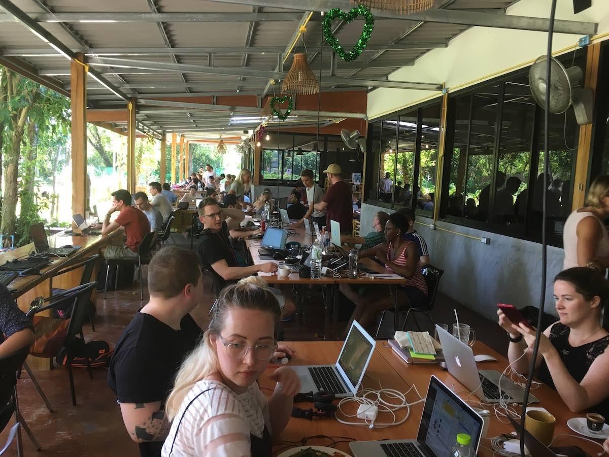 coworking koh lanta thajsko