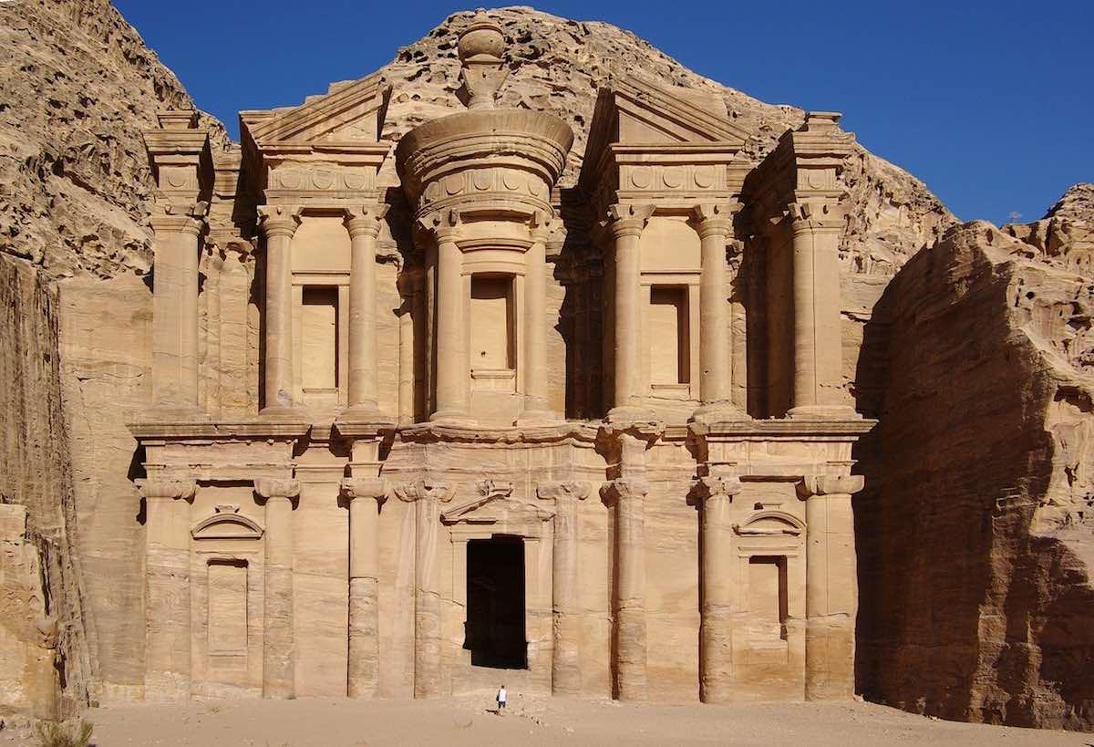 petra jordánsko