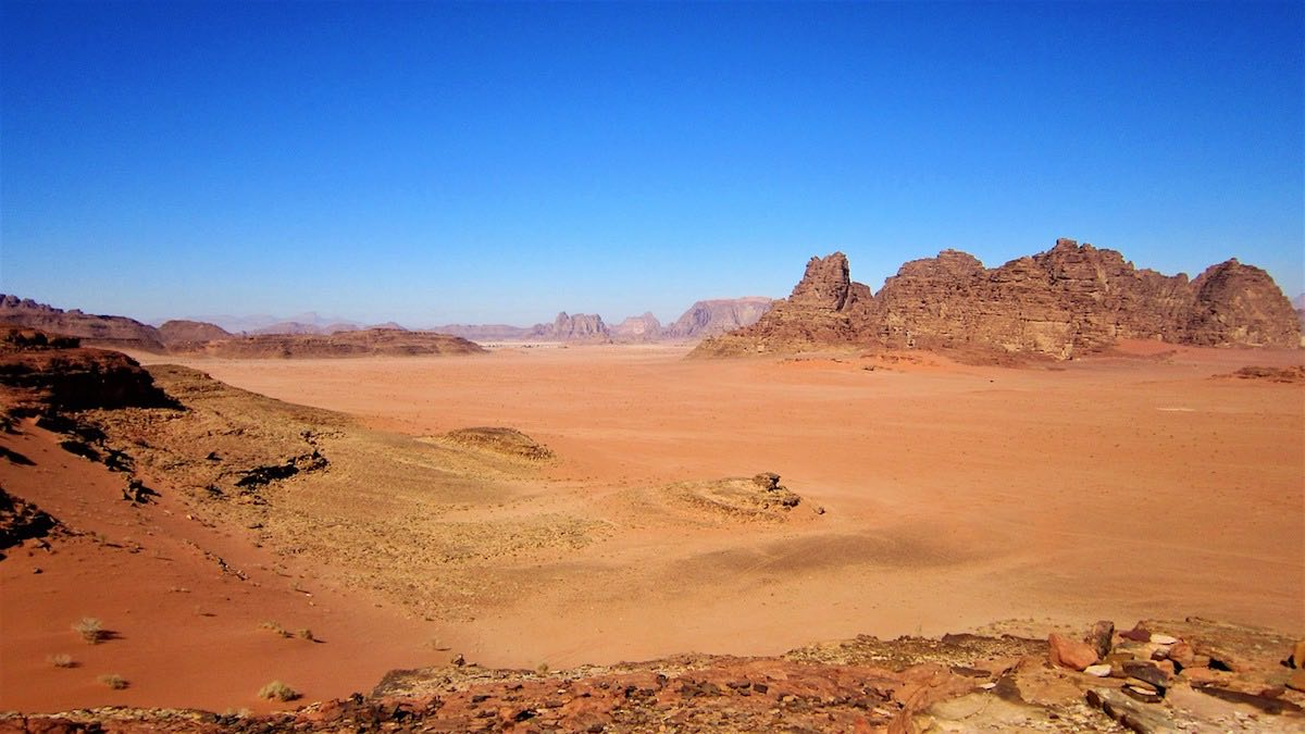 wadi rum jordánsko