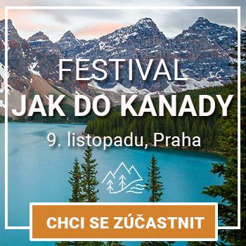 Cestovatelský festival Jak do Kanady