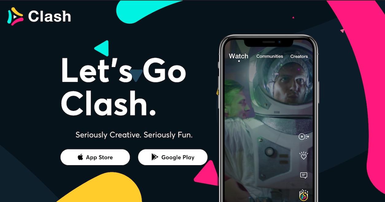clash app alternativa tiktok